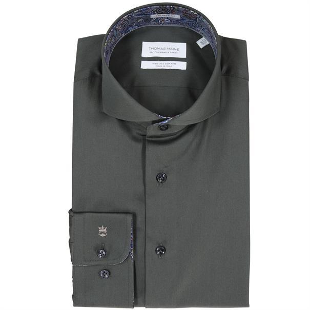 casual overhemd Tailored Fit 827700 in het Groen