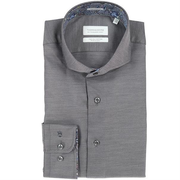 casual overhemd Tailored Fit 827720 in het Grijs