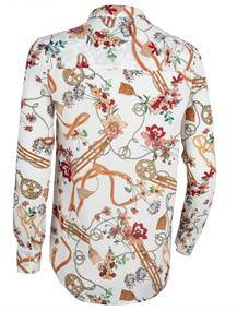 Cavallaro blouse 5001010 in het Wit