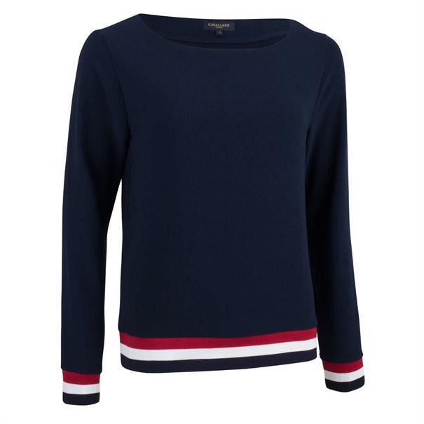 Cavallaro blouse 6491002 in het Donker Blauw
