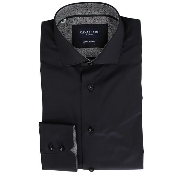 Cavallaro business overhemd 1076112 in het Zwart