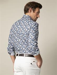 Cavallaro business overhemd 110205002 in het Marine