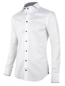Cavallaro business overhemd 110205010 in het Wit