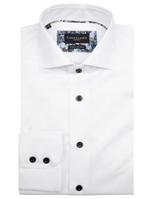 Cavallaro business overhemd 110205021 in het Wit
