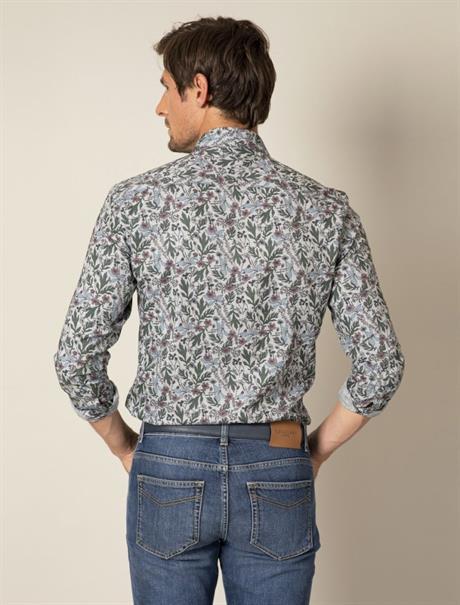 Cavallaro business overhemd 110205030 in het Licht Grijs