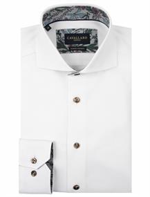 Cavallaro business overhemd 110205041 in het Wit