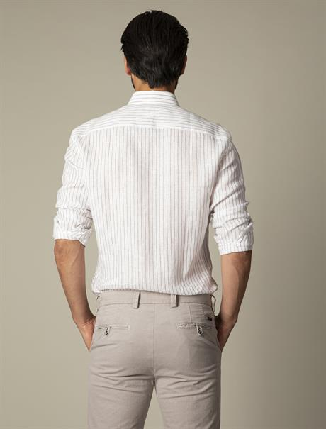 Cavallaro business overhemd 110211028 in het Bruin
