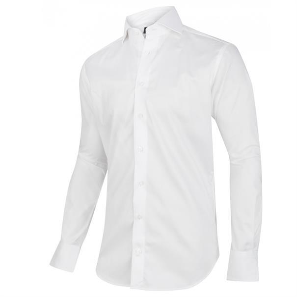 Cavallaro business overhemd NOS WHITE in het Wit