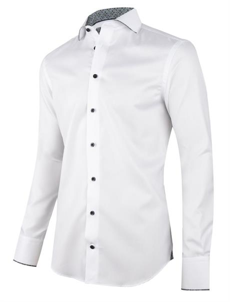 Cavallaro business overhemd Tailored Fit 110205010 in het Wit