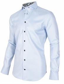 Cavallaro business overhemd Tailored Fit 110205022 in het Licht Blauw