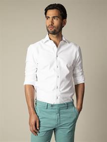 Cavallaro casual overhemd 110211024 in het Hemels Blauw