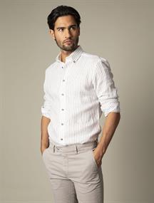 Cavallaro casual overhemd 110211028 in het Bruin