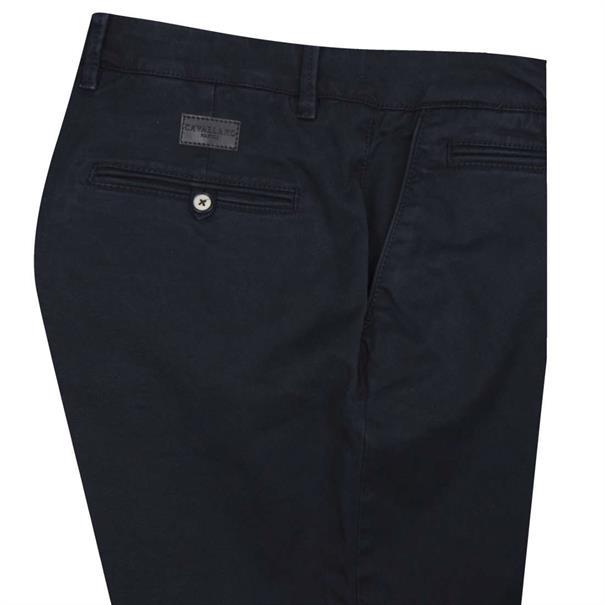 Cavallaro chino Slim Fit 2195001-63000 in het Donker Blauw