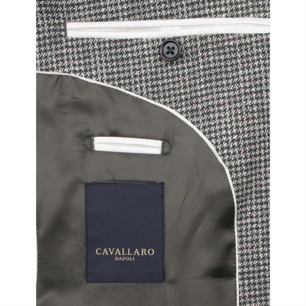 Cavallaro colbert Slim Fit 1391014 in het Mint Groen