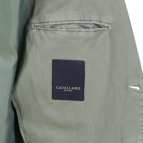 Cavallaro colberts Slim Fit 1301028 in het Groen
