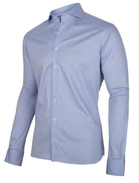 Cavallaro jersey overhemd 110211004 in het Hemels Blauw