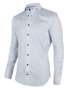 Cavallaro overhemd 1001008 in het Licht Blauw