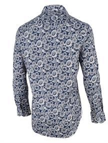 Cavallaro overhemd 1001022 in het Donker Blauw