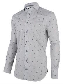 Cavallaro overhemd 1001024 in het Ecru