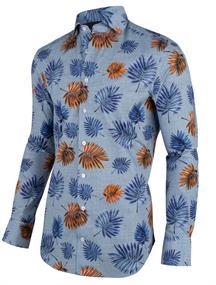 Cavallaro overhemd 1001041 in het Marine