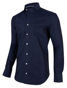Cavallaro overhemd 1001049 in het Donker Blauw