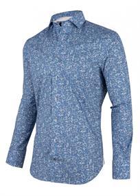 Cavallaro overhemd 1001066 in het Marine