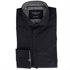 Cavallaro overhemd 1076112 in het Zwart