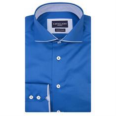 Cavallaro overhemd 1081006 in het Kobalt