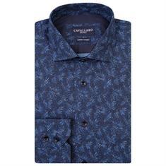 Cavallaro overhemd 1081028 in het Blauw