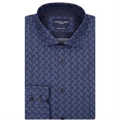 Cavallaro overhemd 1085013 in het Blauw