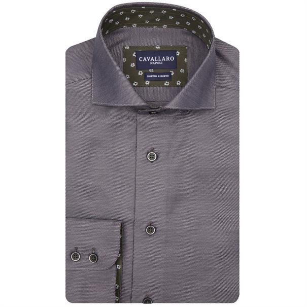 Cavallaro overhemd 1085052 in het Grijs