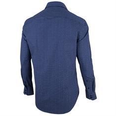 Cavallaro overhemd 1086073 in het Donker Blauw