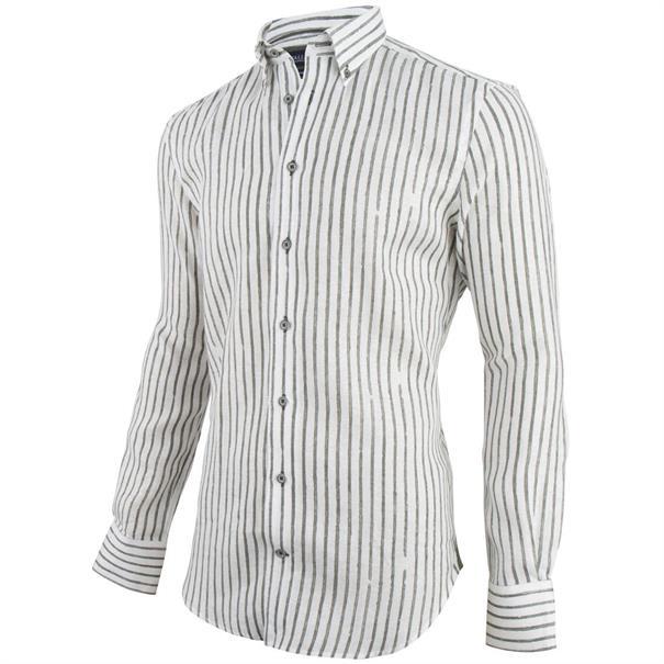 Cavallaro overhemd 1091036 in het Wit