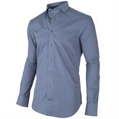 Cavallaro overhemd 1095064-63003 in het Donker Blauw