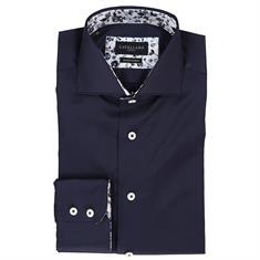 Cavallaro overhemd 1095072-63000 in het Donker Blauw