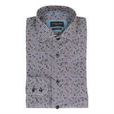 Cavallaro overhemd 1097010 in het Donker Blauw