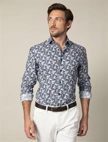 Cavallaro overhemd 110205002 in het Marine