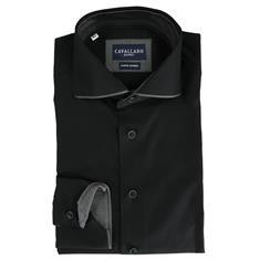 Cavallaro overhemd sciffo in het Zwart