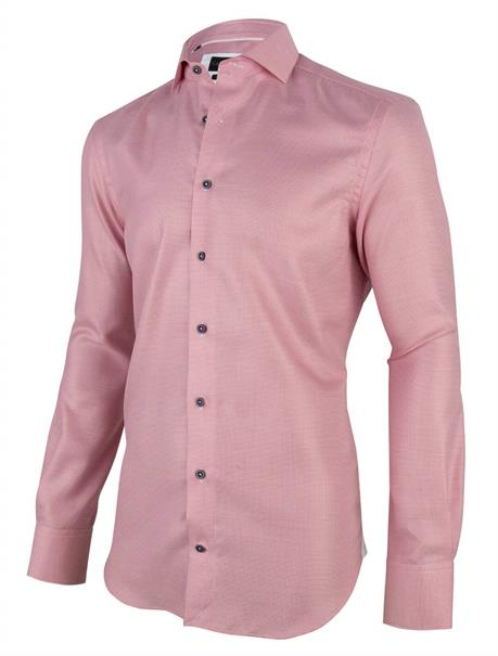 Cavallaro overhemd Tailored Fit 1001009 in het Wit