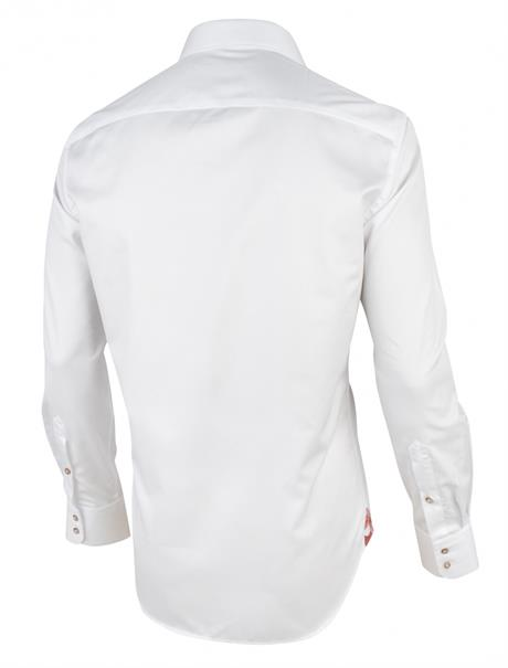 Cavallaro overhemd Tailored Fit 1001073 in het Wit