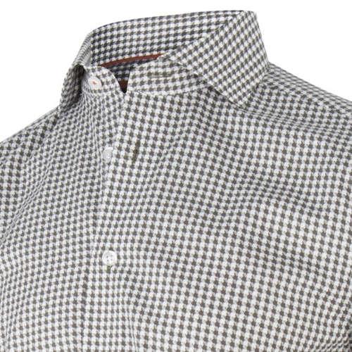 Cavallaro overhemd Tailored Fit 1095010-63103 in het Donker Blauw