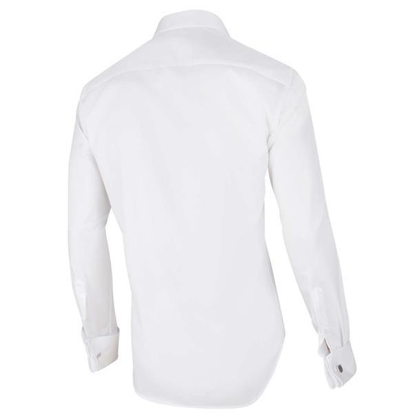Cavallaro overhemd Tailored Fit nosto-ceremonial in het Wit