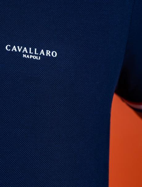 Cavallaro polo's 116212009 in het Donker Blauw