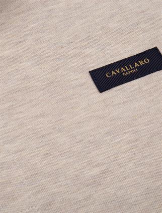 Cavallaro polo's Slim Fit 116211004 in het Beige