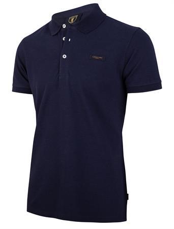 Cavallaro polo's Slim Fit 116211004 in het Donker Blauw
