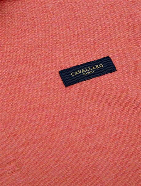 Cavallaro polo's Slim Fit 116211004 in het Rood
