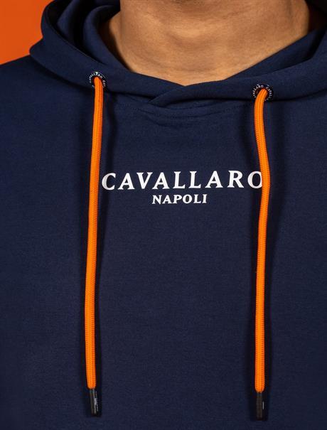 Cavallaro ronde hals trui 120212016 in het Donker Blauw