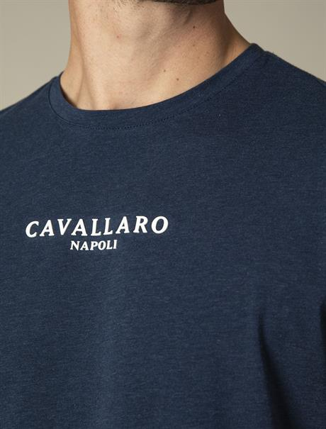 Cavallaro t-shirts 117211000 in het Donker Blauw