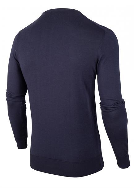 Cavallaro truien Slim Fit 1801014 in het Donker Blauw