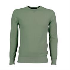 Cavallaro truien Slim Fit 1801014 in het Licht Groen